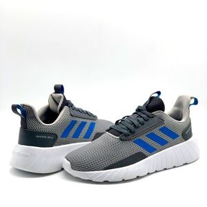 Adidas Silver/Gray Questar Flow Running Shoes SZ 4